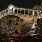 Venezia muore annegata, ma non per il maltempo
