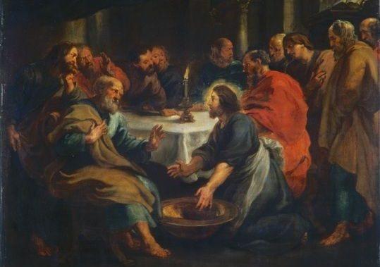 Pasqua 2020/1. Giovedì Santo: l'umanità tutta intera