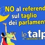 NO al referendum sul taglio dei parlamentari