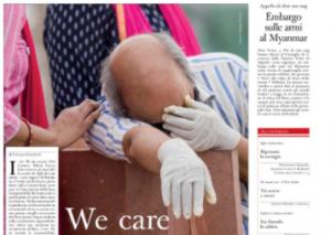 Immagine del giornale